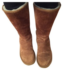 77abd2fa682 UGG Australia Chestnut Knightsbridge Suede Boots/Booties Size US 8 Regular  (M, B) 51% off retail