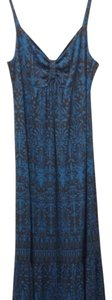 Blue/brown Maxi Dress by Sundance