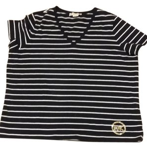 Michael Kors T Shirt black and white stripe