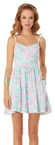 Lilly Pulitzer short dress Spa Blue Lobstah Roller on Tradesy