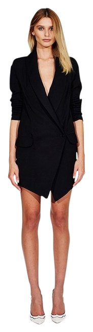 Item - Black Jacket Dress Skirt Suit Size 6 (S)