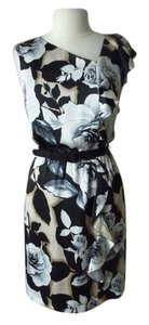 White House | Black Market Rose Floral Dress