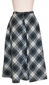 Other Disco Era Hippe Vintage Skirt PLAID
