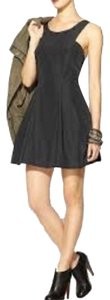 BCBGeneration Pocket Lbd Flare Low Taffeta Dress