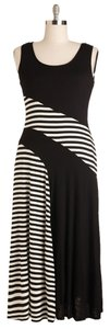 Black and white Maxi Dress by Modcloth