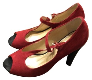Marc Fisher Red Platforms