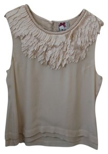 Yoana Baraschi Fringe Top Cream