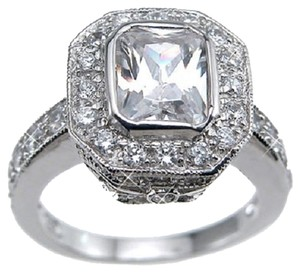 Vintage Style Solitaire Ring * Available Size 5, 6, 7, 8, 9 * Gorgeous & Unique Exclusive Design*