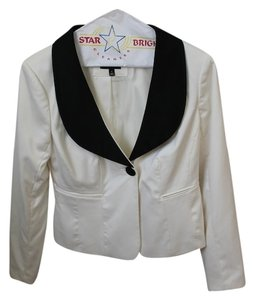 The Limited The Limited Black and White Suit Jacket