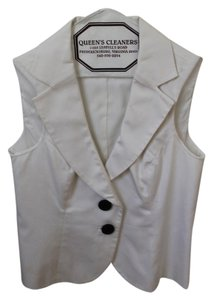 The Limited Black And Vest Button Down Shirt White