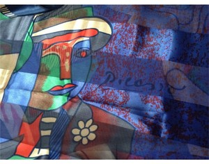 Pablo picasso HUGE picasso shawl scarf