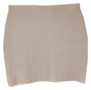 BB Dakota Mini Skirt Silver