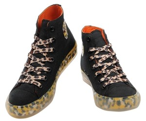 Converse Red Insoul Yellow Leopard Black Athletic