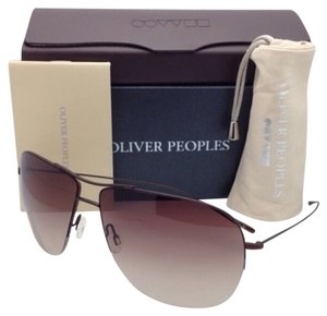 Oliver Peoples New OLIVER PEOPLES Sunglasses WELLES OV 1111-ST 5019/13 Brown Walnut Frame w/ Brown Fade