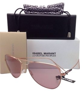 Oliver Peoples New ISABEL MARANT Par OLIVER PEOPLES Sunglasses MATT OV 1156-S 5037/84 Rose Gold