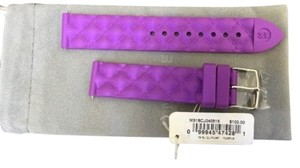 Michele Silicon watch strap 18mm