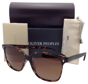 Oliver Peoples New OLIVER PEOPLES Polarized Sunglasses MARMONT OV 5266-S 1415/T5 Sable Tortoise Frame