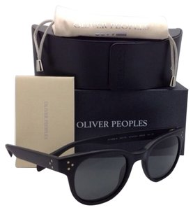 Oliver Peoples New Polarized OLIVER PEOPLES Sunglasses AFTON SUN OV 5236-S 1031/P2 Black w/Grey Lenses