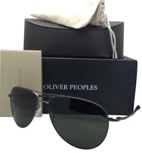 Oliver Peoples Polarized OLIVER PEOPLES Sunglasses BENEDICT OV 1002-S 5248P1 Black Chrome w/G15