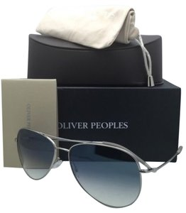 Oliver Peoples OLIVER PEOPLES PHOTOCHROMIC Sunglasses KANNON OV 1191-S 5036/3F Silver w/ Blue