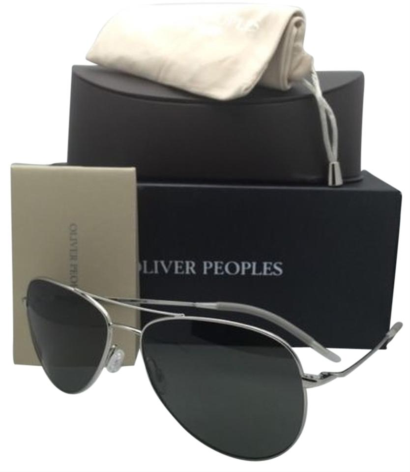 1ba02b8a9e02 Oliver Peoples Polarized OLIVER PEOPLES Sunglasses KANNON OV 1191-S 5036 K8  Silver w ...