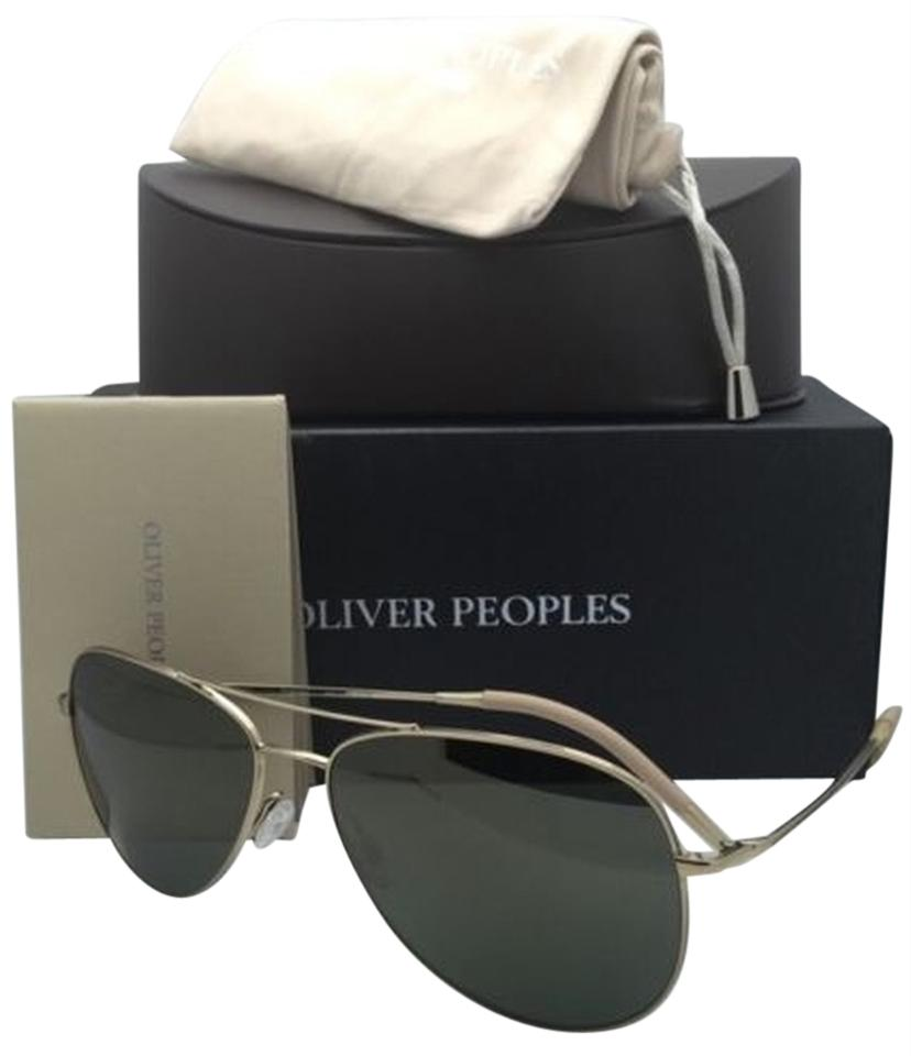 b7acd7ca223d Oliver Peoples New OLIVER PEOPLES Sunglasses KANNON OV 1191-S 5035 O9 Gold  w ...