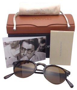 Oliver Peoples OLIVER PEOPLES Sunglasses GREGORY PECK SUN 5217-S 1001/53 Tortoise 8108 w/ Brown