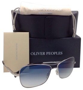 Oliver Peoples Photochromic OLIVER PEOPLES Sunglasses SANFORD OV 1130-S 5133/Q6 Silver w/ Blue