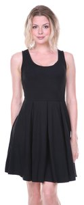 White Mark short dress Black Crystal Fit Stretchy Summer Spring Trendy Classic Little on Tradesy