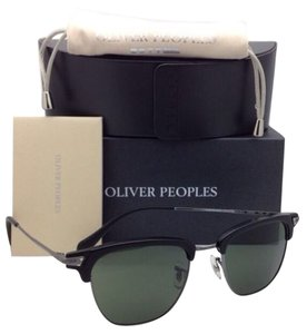Oliver Peoples OLIVER PEOPLES Sunglasses BANKS SUN OV 1145-S 5041/7C Black-Pewter w/Grey Lenses