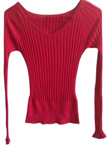 Guess Textured V-neck Knit Sweater