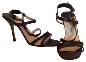 Jimmy Choo Coffee Kid Sandals