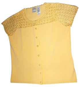 Emma James Button Down Shirt Yellow