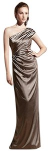 Dessy One Shoulder Full Length Dress