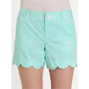Lilly Pulitzer Dress Shorts Blue/Green