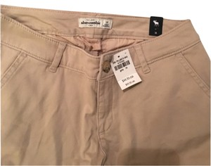 abercrombie kids Boot Cut Pants Beige
