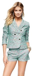 Juicy Couture Lace PALE AQUAMARINE Blazer
