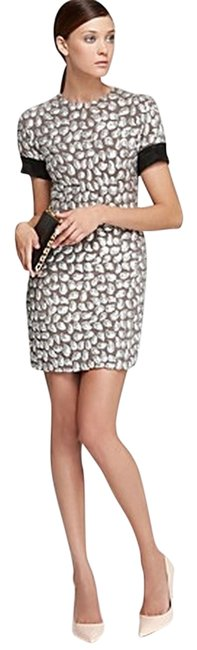 Item - Nude/Black/Silver/Sequin Cindy Puffy Above Knee Night Out Dress Size 2 (XS)