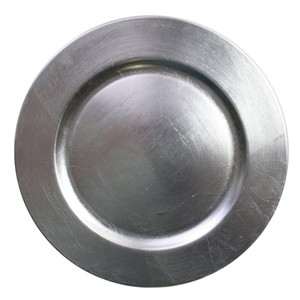 """Silver Charger 13"""" Tableware"""