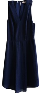 Rebecca Taylor short dress Navy on Tradesy