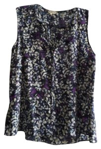 Rebecca Taylor Top Purple multi