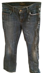David Kahn Straight Leg Jeans-Medium Wash