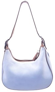 Coach Canvas Silver Hardware Hobo Bag
