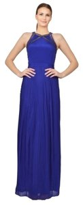 Rebecca Taylor Blue Gown Nightout Dress