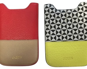 J.Crew J Crew Leather Iphone Holders