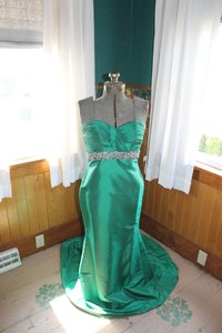 House of Wu Ball Gown Prom Mermaid Size Stunning Only Worn Once Dress