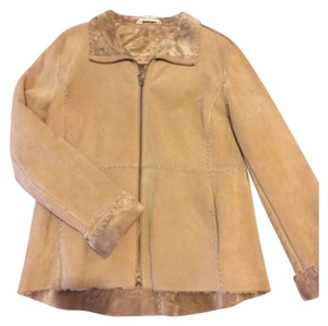 J. PERCY FOR MARVIN RICHARDS Beige Jacket