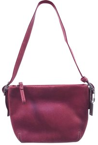 Coach Mini Leather Tote in Red