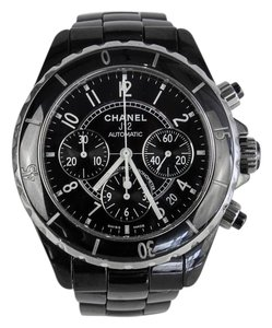 Chanel Chanel J12 Black Automatic Chronograph 41mm Watch