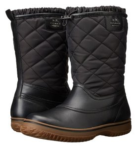 Coach Winter Black Boots